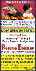 Resume Booster (A Group Company of MKV Industries)