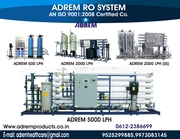 RO PLANT MANUFACTURER ADREM RO SYSTEM IN JHARKHAND
