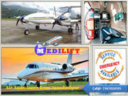 Immediately Shift a Patient by Medilift Air Ambulance from Mumbai