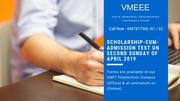 Scholarship-Cum-Admission Test - VMEEE