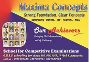 Institute with C.B.S.E curriculum and provide IIT JEE coaching