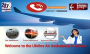 Lifeline Air Ambulance in Bokaro a Comprehensive Package of Aeromedica