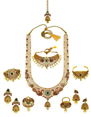 Buy Dulhan Set & Bridal Necklace Online at best price.