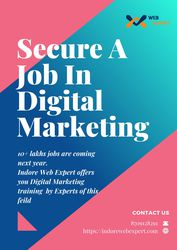 Secure A job in Digital Marketing