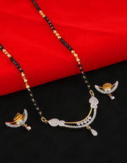 Buy for Long Mangalsutra Designs at best price by Anuradha Art Jewelle