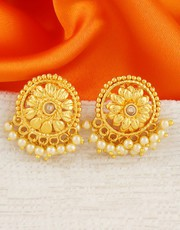 Shop for Latest Earrings & Ear Tops Design Online for Girls
