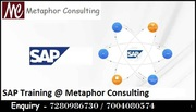 sap training & 100 % placement guarantee at Metaphor Consulting at JSR