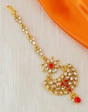 Shop Maang Tikka Online at Best Price by Anuradha Art Jewellery