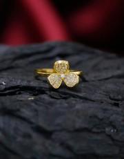 Shop for American Diamond Ring by Anuradha Art Jewellery
