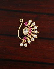 Buy Nath Design Online at Best Price by Anuradha Art Jewellery
