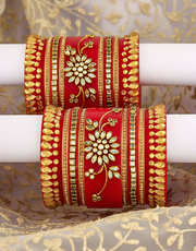 Buy latest Collection of punjabi chuda Online at Affordable Price.